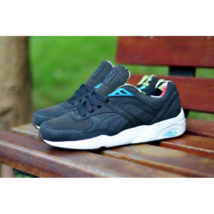 Puma R698L Tropicalia Trinomic black/blu